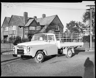 "Film negative: International Harvester Company: Number 817 AA 120"" Sheep Truck"