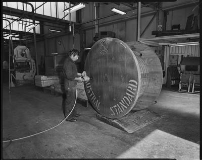 Film negative: Atlas Copco Limited, Austral cables plant