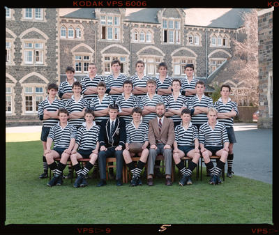 Negative: Christ's College U16 Rugby 1987