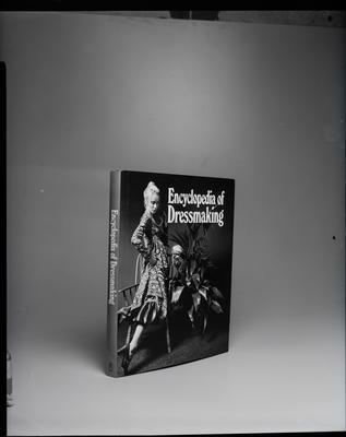 "Film negative: Whitcoulls, ""Encyclopedia of Dressmaking"" book"