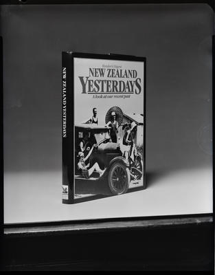 "Film negative: Whitcoulls, ""New Zealand's Yesterday's"" book by Readers Digest"