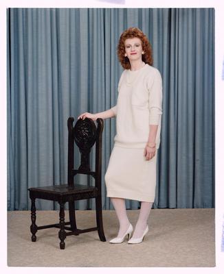 Negative: Miss M. Shefford Portrait