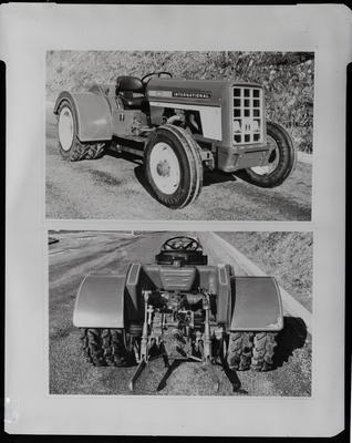 Film negative: International Harvester Company: dual-wheel tractors