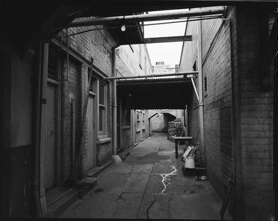 Film negative: Christchurch Working Men's Club, building exterior