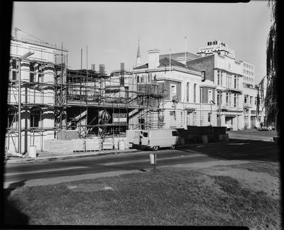 Film negative: Christchurch Working Men's Club, view for report