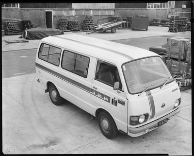 Film negative: International Harvester Company: Toyota Hiace van