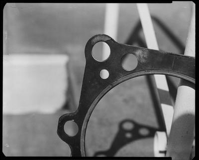 Film negative: International Harvester Company: copper gasket