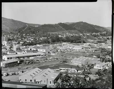 Film negative: Nelson, views of the city