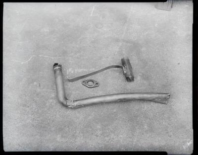 Film negative: International Harvester Company: damaged parts