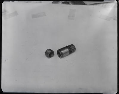 Film negative: International Harvester Company: parts, radiator caps etc