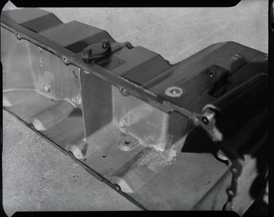 Film negative: International Harvester Company: cracked lamp