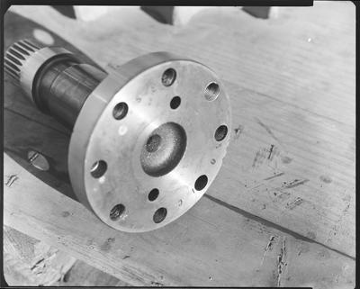 Film negative: International Harvester Company: flywheel shaft service