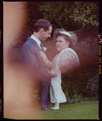Negative: Burt-Graves Bride and Groom