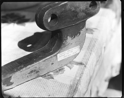 Film negative: International Harvester Company: cracket steering arm
