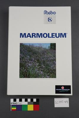"""Booklet - """"Marmoleum"""""""