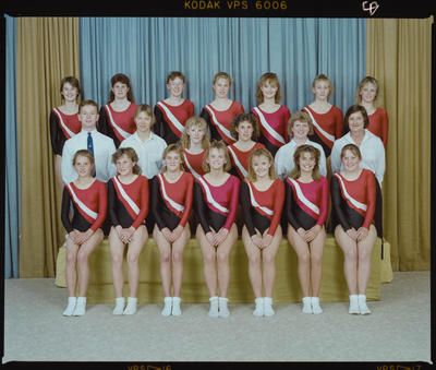 Negative: Canterbury Trampolining Team 1988