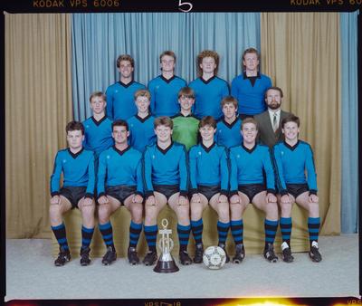 Negative: CBHS 1st XI Soccer 1988