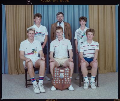 Negative: CBHS Tennis Team 1988
