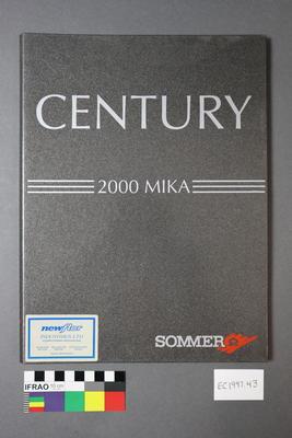"Booklet - ""Century"""