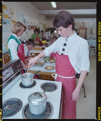 Negative: Christ's College Cooking Class