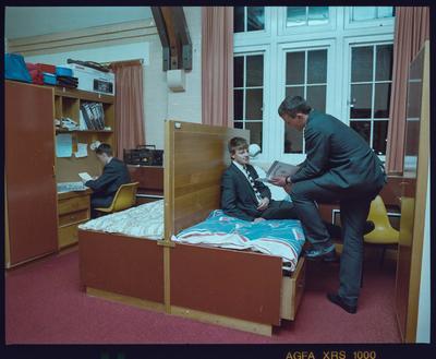 Negative: Christ's College Dormitory