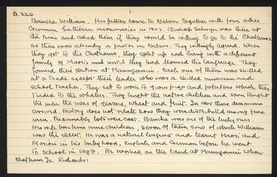 Macdonald Dictionary Record: William Bauke