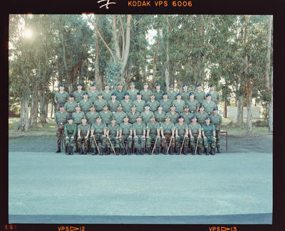Negative: Junior NCO Course Group Burnham