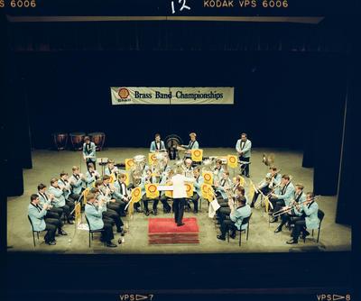 Negative: Shell Oil Brass Band Championships