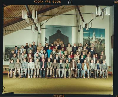 Negative: CBHS Staff Photo 1988