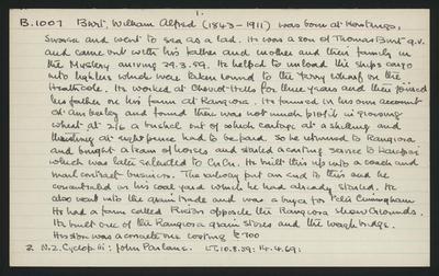Macdonald Dictionary Record: William Alfred Burt; 1952-1964;