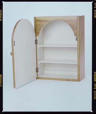 Negative: Wooden Cabinet