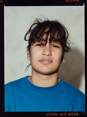 Negative: Unnamed Woman Portrait