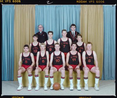 Negative: St Bede's Basketball 1988