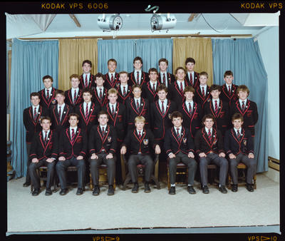 Negative: St Bede's Prefects 1988