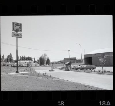 Negative: Shell Oil Truck Stop