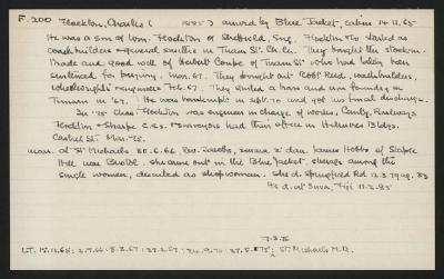 Macdonald Dictionary Record: Charles Flockton