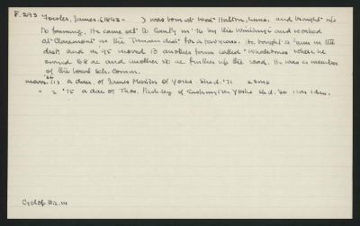 Macdonald Dictionary Record: James Fowler