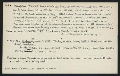 Macdonald Dictionary Record: George Frampton