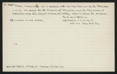 Macdonald Dictionary Record: James Fraser