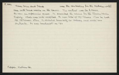 Macdonald Dictionary Record: John & James Fraser