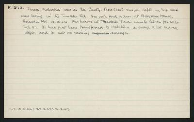 Macdonald Dictionary Record: Malcolm Fraser