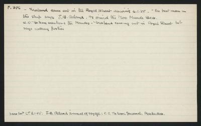 Macdonald Dictionary Record:  Freeland