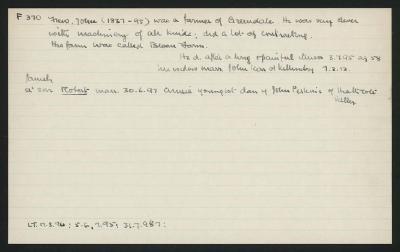 Macdonald Dictionary Record: John Frew