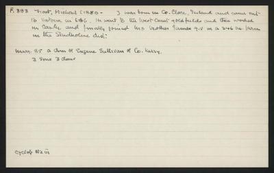 Macdonald Dictionary Record: Michael Frost