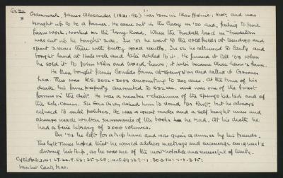 Macdonald Dictionary Record: James Alexander Gammack