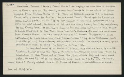 Macdonald Dictionary Record: Francis Robert Hicks Gardiner