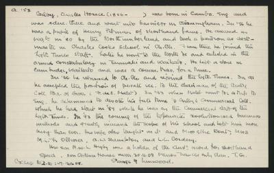Macdonald Dictionary Record: Charles Horace Gilby