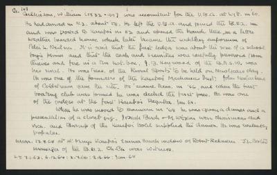 Macdonald Dictionary Record: William Gilkieson