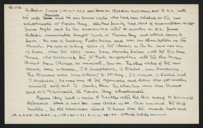 Macdonald Dictionary Record: James Gillespie