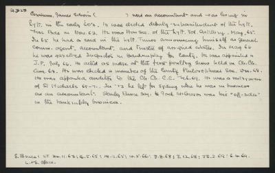 Macdonald Dictionary Record: James Edwin Graham